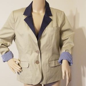 Brooklyn Industries Alison Tan Blazer NWT